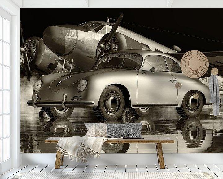 Beispiel fototapete: Der Porsche 356 Ein ikonisches Auto von Jan Keteleer