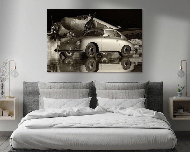 Beispiel: Der Porsche 356 Ein ikonisches Auto von Jan Keteleer