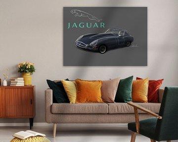 Jaguar E-type von Rakesh Soekhoe