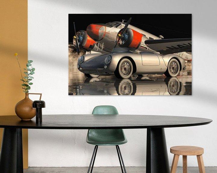 Beispiel: Der Porsche 550 Spyder der ikonischste Sportwagen von Jan Keteleer
