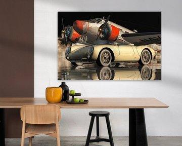Der Porsche 550-A Spyder von 1956 von Jan Keteleer