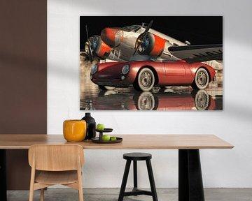 Porsche 550-A Spyder von 1956 von Jan Keteleer