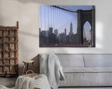Brooklyn Bridge von S van de Roer