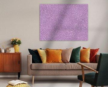 Abstrakter Stil Quadrate Licht lila. von Hendrik-Jan Kornelis