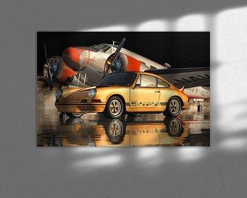 Porsche 911 Carrera RS 1973 Orange von Jan Keteleer
