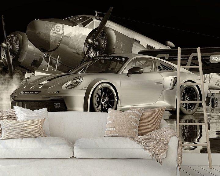 Beispiel fototapete: Porsche 911GT 3 RS von Jan Keteleer