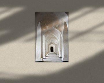 Gewölbe der Mir-i Arab Madrasa von Marit Lindberg