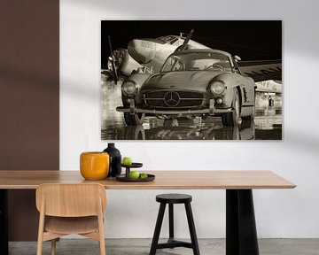 Mercedes 300SL Flügeltürer - Begehrteste Oldtimer von Jan Keteleer