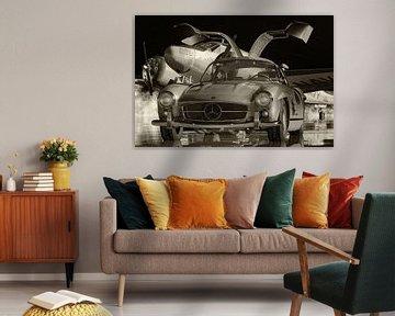 Mercedes 300SL Flügeltürer von 1964 ist der meistgesuchte Oldtimer von Jan Keteleer