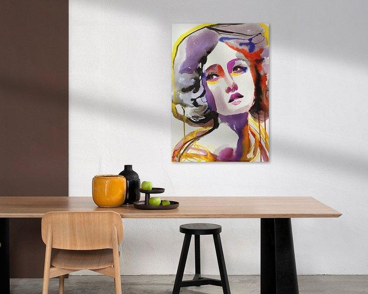 Beispiel: Regenbogen-Glühen von Helia Tayebi Art