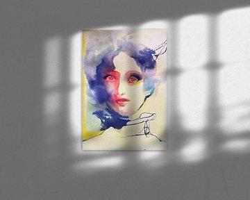 Nuages de rêve sur Helia Tayebi Art