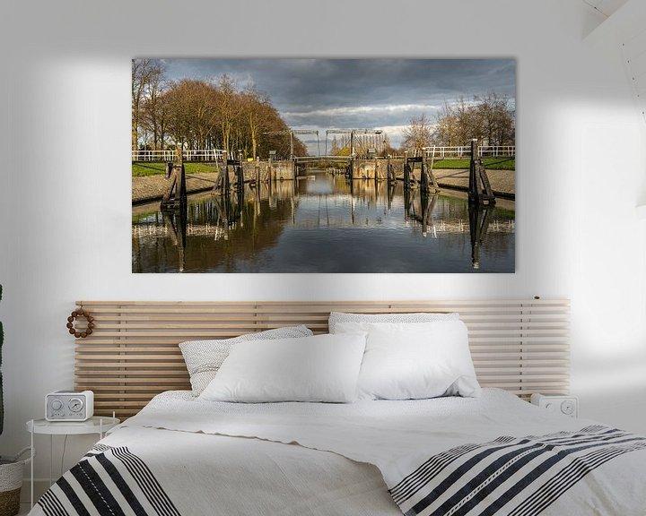 Sfeerimpressie: De Willemsvaart is een vaart in de Nederlandse stad Zwolle die loopt van de binnenstad van Zwolle na van Jaap van den Berg