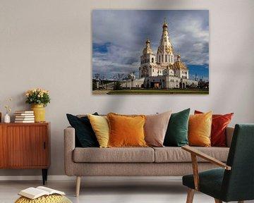 Die Allerheiligenkirche in Minsk, Weißrussland von Adelheid Smitt