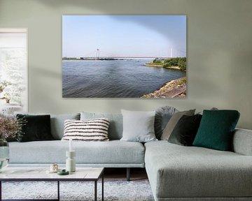 Rijnbrug bij Emmerich am Rhein van Jaap Mulder