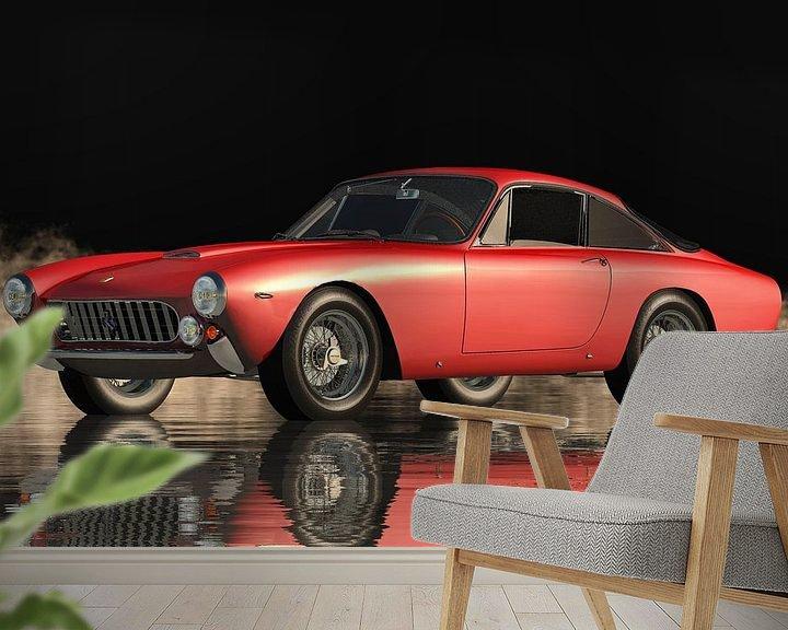 Beispiel fototapete: Die exquisite Leistung des Ferrari 250 GT Lusso von Jan Keteleer