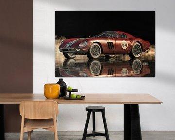 Das Design des Ferrari 250 GTO von Pininfarina