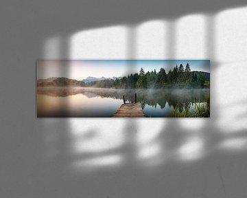 Panorama du lac Gerold sur Martin Wasilewski