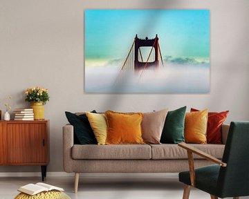 Golden Gate Bridge  van Truckpowerr