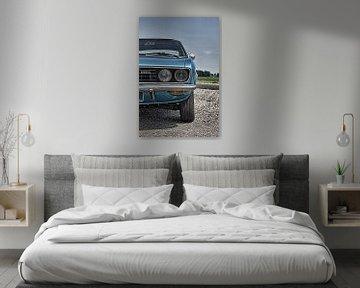 Opel Manta A (1971) van Jelte Bosma
