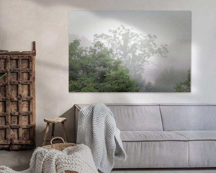 Sfeerimpressie: Mist in de zomer van Jan van der Knaap