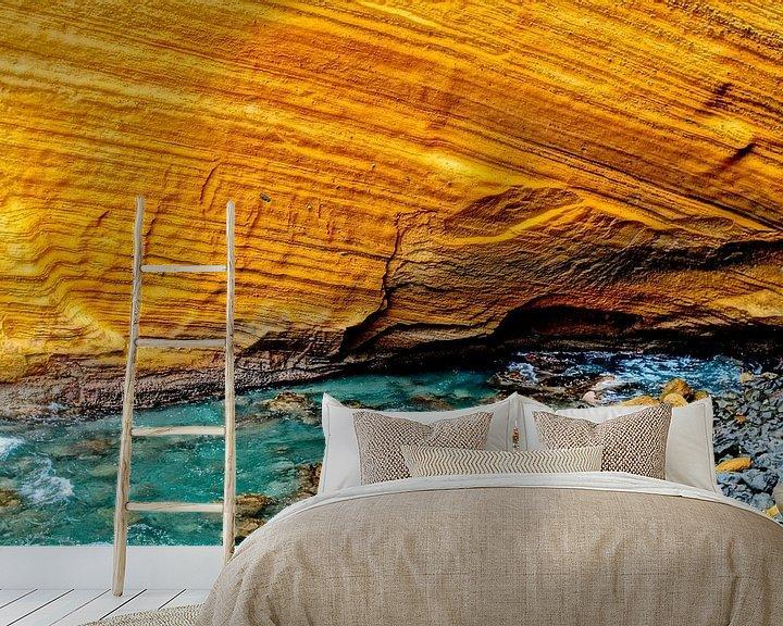 Sfeerimpressie behang: Cap Jaune van Stella JUMEAU