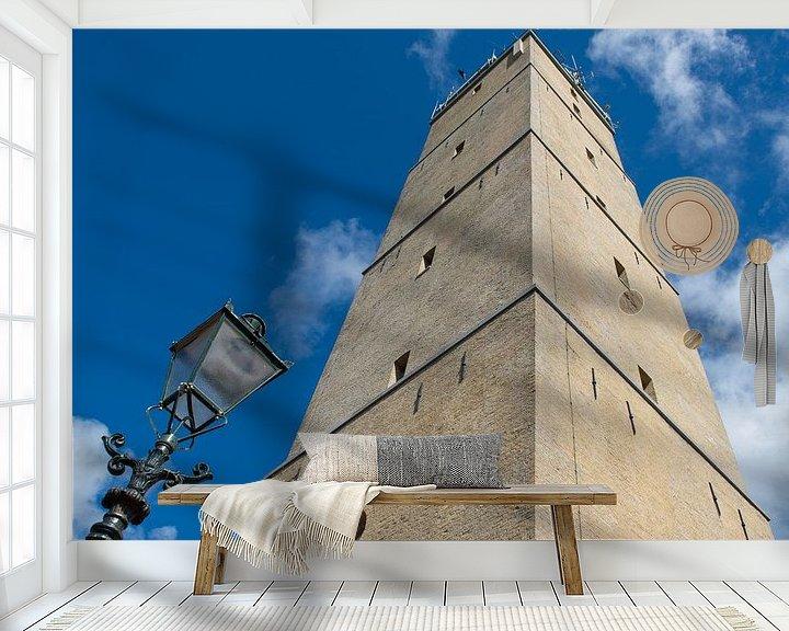 Beispiel fototapete: Brandaris-Leuchtturm von Raoul Baart