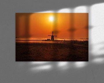 Moulin à vent du Bosmolen sur Henry Oude Egberink