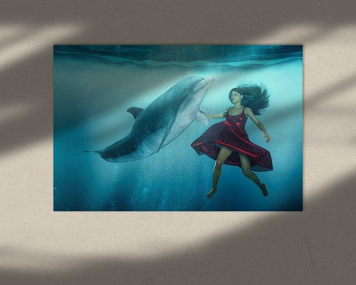 Sfeerimpressie: Dolfijn Tango van Arjen Roos