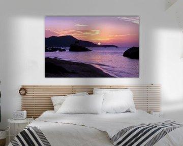 Sonnenaufgang - Ca Na - Vietnam van Silva Wischeropp