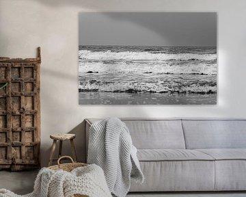 Wellen West auf See Terschelling von Bart Lindenhovius