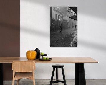 Ein regnerischer Tag in Utrecht von Bart van Lier