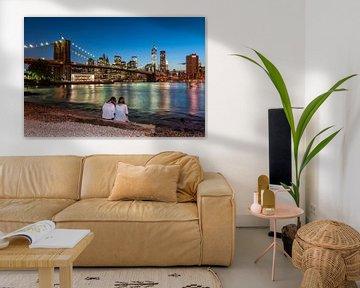 New York - Brooklyn Bridge  von Kurt Krause