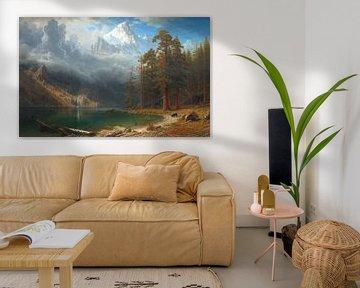 Albert Bierstadt, Mount Corcoran, 1876-1877 van Atelier Liesjes
