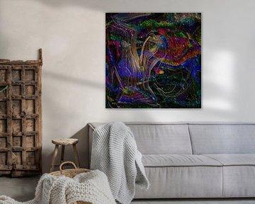 Farbwellen von Lutz Roland Lehn