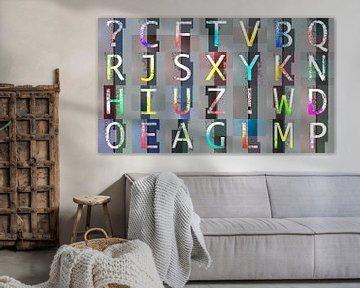 Alphabet No.1 von Leopold Brix