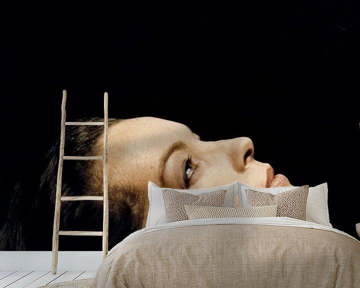 Beispiel fototapete: Romy Schneider in Fantome D'Amour von Bridgeman Images