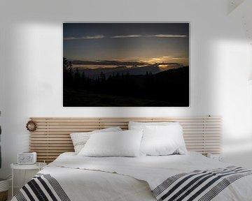 Sonnenaufgang über dem Steinernen Meer von chamois huntress