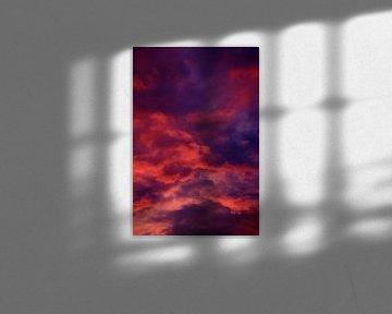 Vurige wolken van Eva Overbeeke