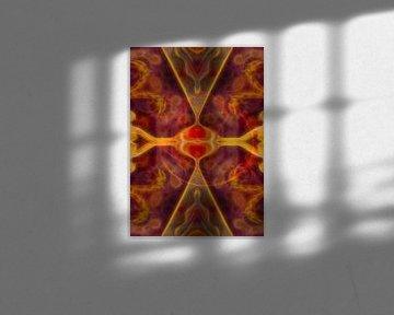 XI - Lust/Kracht (Tarot) van Lucia