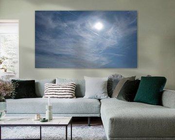 Nuages avec soleil, Wassenaarseslag, Wassenaar sur themovingcloudsphotography