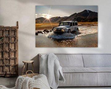 Fords in IJsland van Thomas Heitz