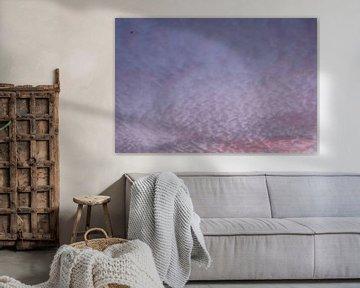 Paarse lucht, Wassenaarseslag, Wassenaar, Nederland van themovingcloudsphotography