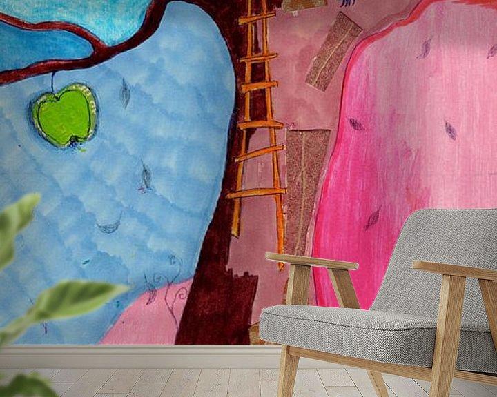 Sfeerimpressie behang: A threehouse van keanne van de Kreeke