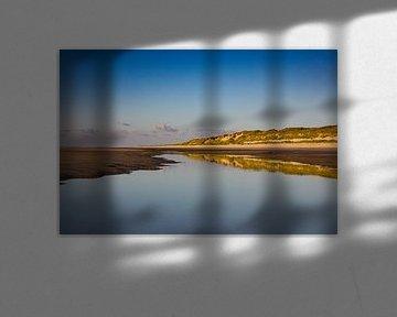 Reflexionsdünenreihe Nordseestrand Vlieland I von Gerard Koster Joenje (Vlieland, Amsterdam & Lelystad in beeld)