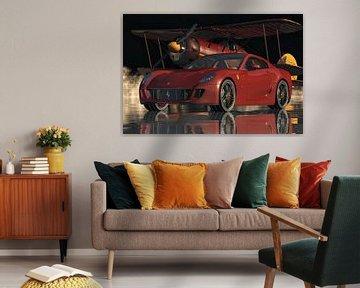 Ferrari 599 GTB Aufpolieren der Performance-Wagen