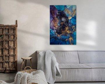 Marbre bleu sur Steffen Gierok