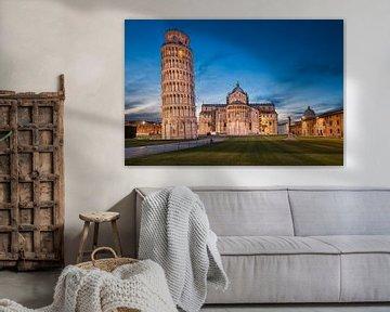 Overnachting in Pisa, Italië van Michael Abid
