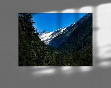 De Großvenediger in het Nationaal Park Hohe Tauern van Christian Peters