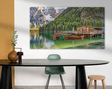 Bootshaus - Pragser Wildsee - Dolomiten