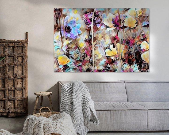 Beispiel: Bunte Blumen auf der Wiese von Patricia Piotrak